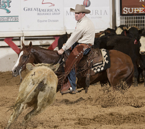 Junie Wood winning 2015 NCHA Super Stakes Open Classic