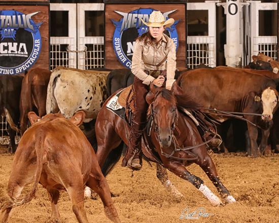 Cassie Cerny riding Rose E. Seth Petit photo.